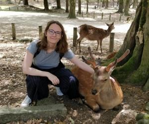 Estelle a profité de son stage de fin d'études au Japon pour découvrir le pays.
