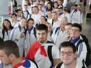 Depuis Roissy, le 11 août dernier, les 45 jeunes de l'Equipe de France des métiers se sont envolés pour São Paulo -  © WorldSkills France / Daniel Le Stanc //©WorldSkills France / Daniel Le Stanc