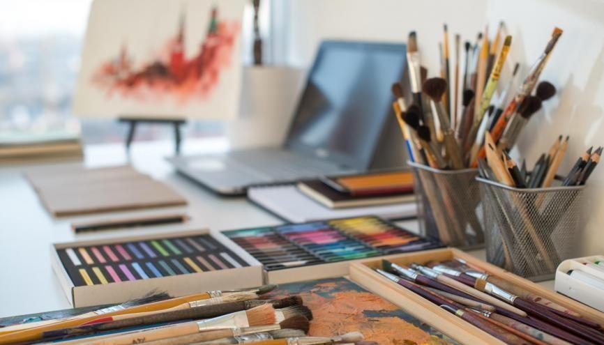 Le premier de nos trois Facebook Live sur Parcoursup était consacré aux écoles d'art. //©undrey/Adobe Stock