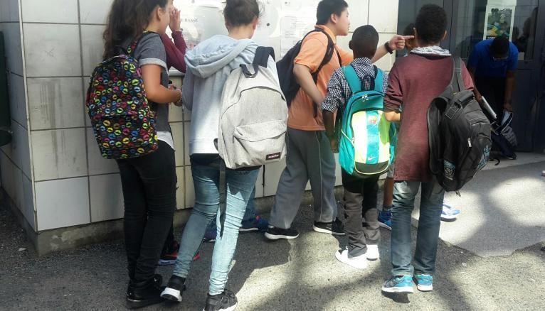 Les élèves de cinquième du collège Edmond-Michelet n'ont pas entendu parler de la réforme du collège.