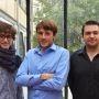 Adrien Saix et ses associés fondateurs de MyArtMakers