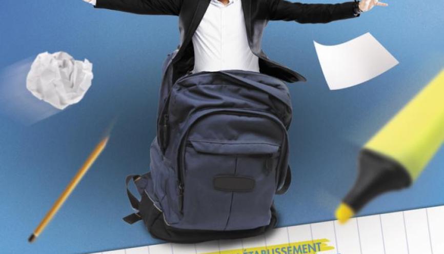 Cyril Hanouna retourne sur les bancs de l'école //©Europe1