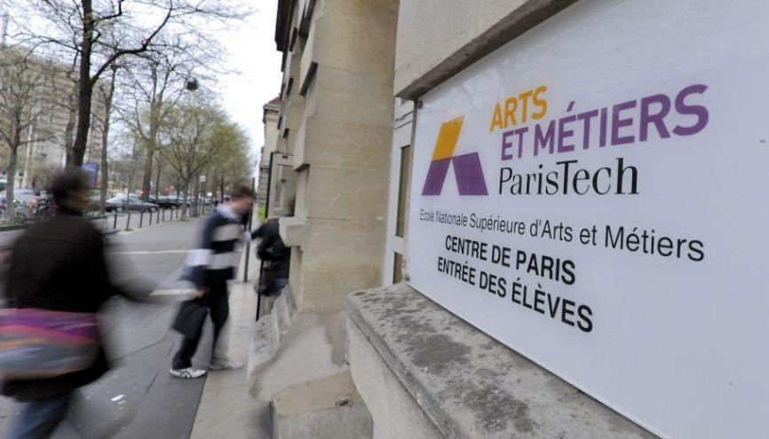 Arts et Métiers ParisTech dispense sur plusieurs de ses campus, dont celui de Paris, des formations d'ingénieur en alternance. //©ENSAM