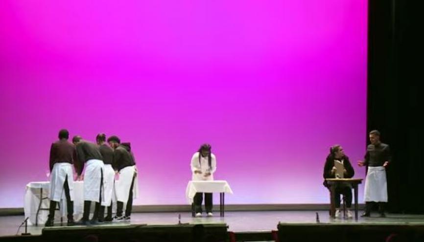 ApprentiScènes : une compétition théâtrale réservée à des jeunes Franciliens en apprentissage. //©letudiant