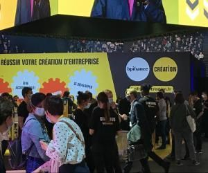 La 6e édition du salon Big, consacrée à l'entrepreneuriat des jeunes.