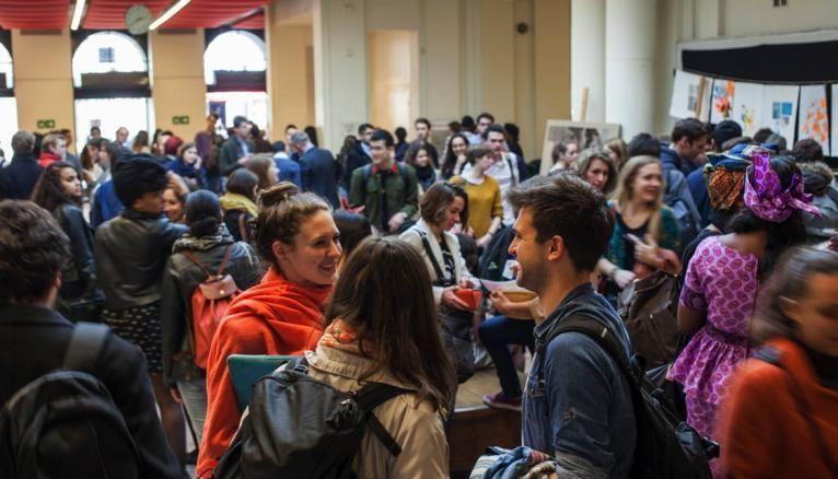 Le campus de la rue Saint-Guillaume accueille la moitié des étudiants de Sciences po Paris