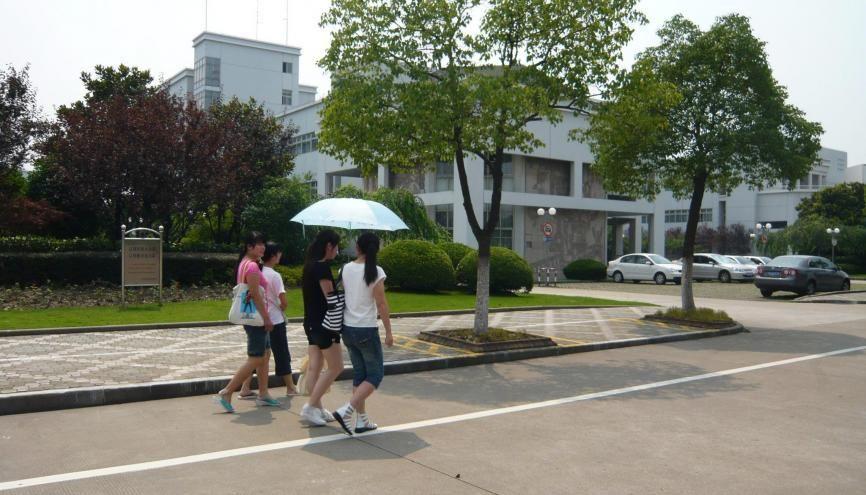 La guesthouse, sorte d'hôtel au sein de l'université, peut être une bonne solution de logement. Ici sur le campus de l'université de Baoshan. //©Sylvie Lecherbonnier