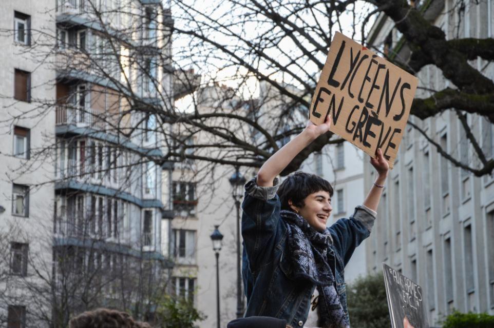 Les élèves de terminale sont les premiers concernés par la réforme de l'université //©erwin canard