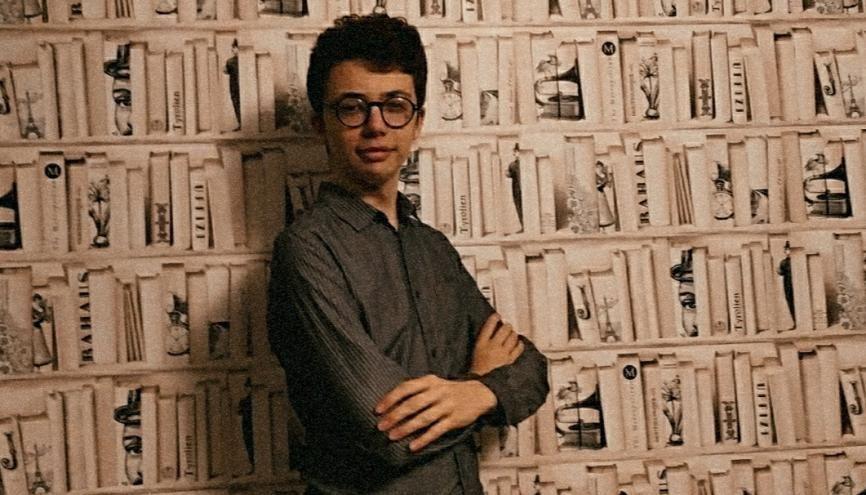 Mehdi Cliquennois, le fondateur de la maison d'édition Les Jeunes Lettres. //©Photo fournie par le témoin