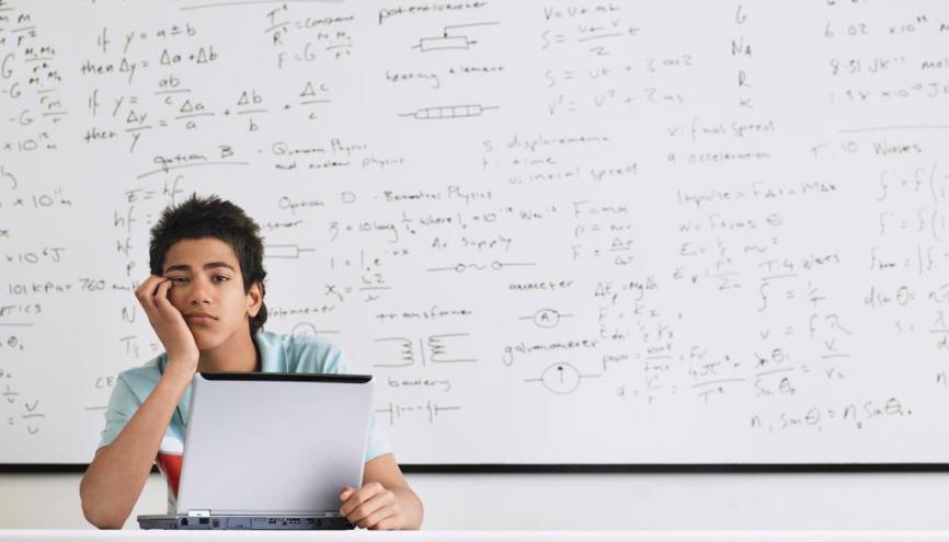 Les enseignants sont moins souvent absents au lycée qu'au collège. //©iStockphoto