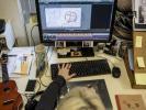 À l'école des Gobelins, les étudiants sont formés aux différents logciels de création graphique, tels que After Effects, Flash, Maya, Photoshop. //©Éric Garault pour L'Étudiant