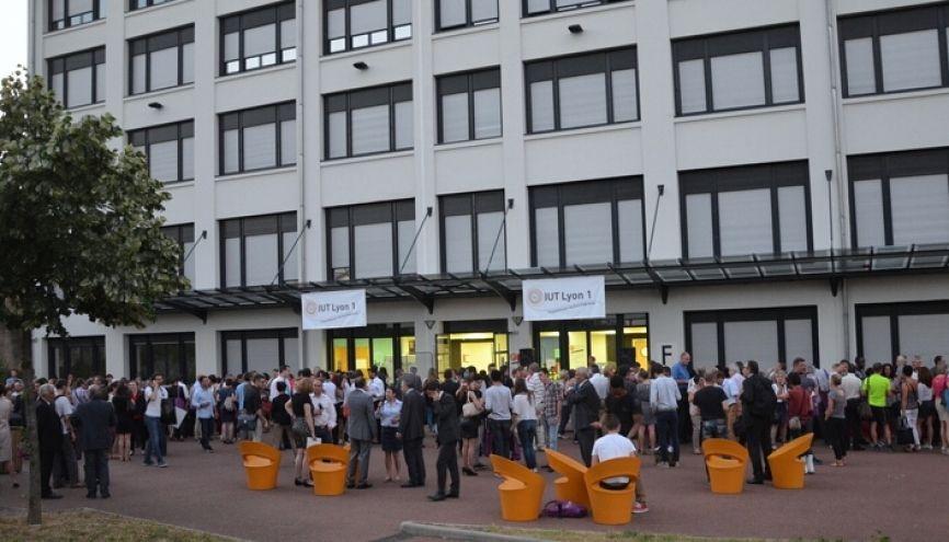 Avec 41 % d'attractivité, le DUT tech de co de Lyon 1 fait partie du top 5 de notre classement. //©IUT Lyon 1