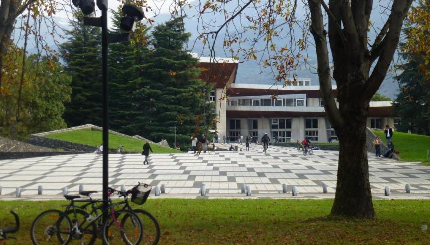 Campus de Saint-Martin-d'Hères, où est implantée la fac de sciences et technologie de l'UJF. //©Virginie Bertereau