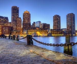 Le Bunker Hill Community College est proche du centre-ville de Boston.