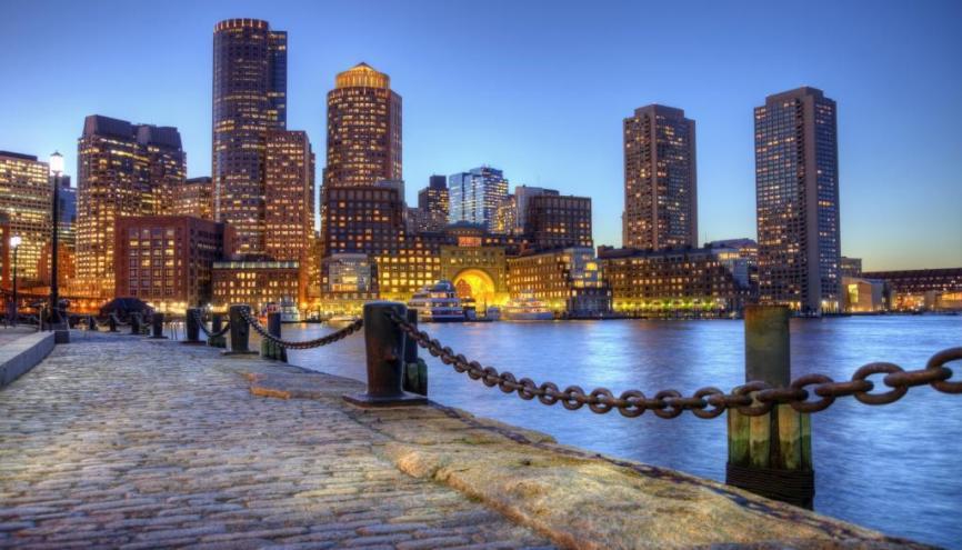 Le Bunker Hill Community College est proche du centre-ville de Boston. //©iStockphoto