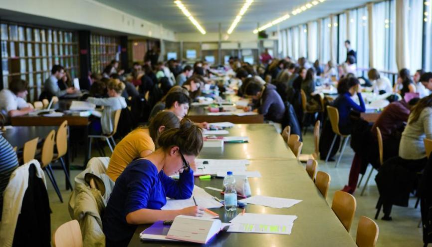 Université de droit - Bibliothèque universitaire Paris 2-Assas //©Université Assas