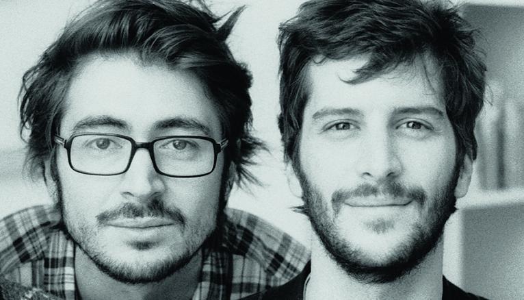 """Romain Rachlin (à gauche) et Maxime Tétard, fondateurs des Graphiquants : """"L'ESAD d'Amiens forme des professionnels ayant une vraie culture du graphisme."""""""
