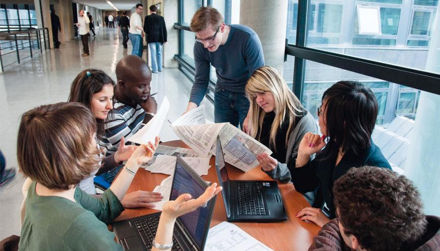 À l'ESC Grenoble, 47 % des étudiants ont intégré l'école par le biais des admissions parallèles. //©ESC Grenoble