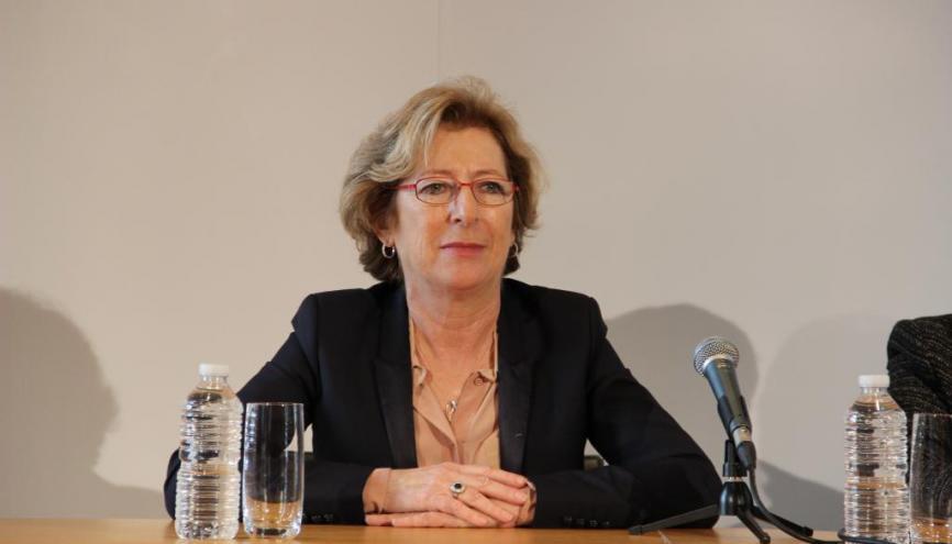 Genevieve Fioraso - Ministre de l'Enseignement supérieur et la recherche - Novembre 2012 //©Camille Stromboni