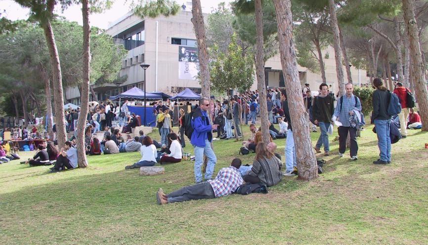 Quelque 130 étudiants français suivent actuellement un cursus au Technion. //©Institut Technion