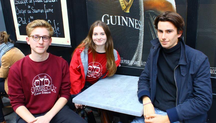 Paris-Ci, guide des bons plans, crée aussi des événements pour les étudiants. //©Delphine Dauvergne