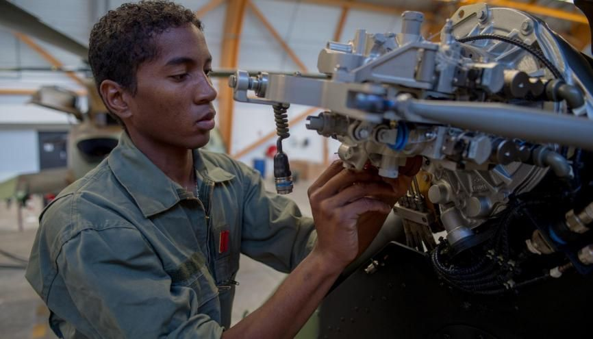 Se former avec l'armée de Terre //©F.Raisin / armée de Terre / Défense