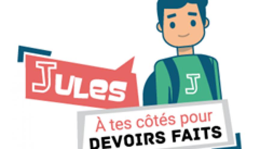 Pour l'instant, Jules ne répond que pour deux matières : français et maths. //©Ministère de l'Éducation nationale