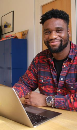 Très tôt, Bryan, 23 ans, a su qu'il voulait travailler dans la création.