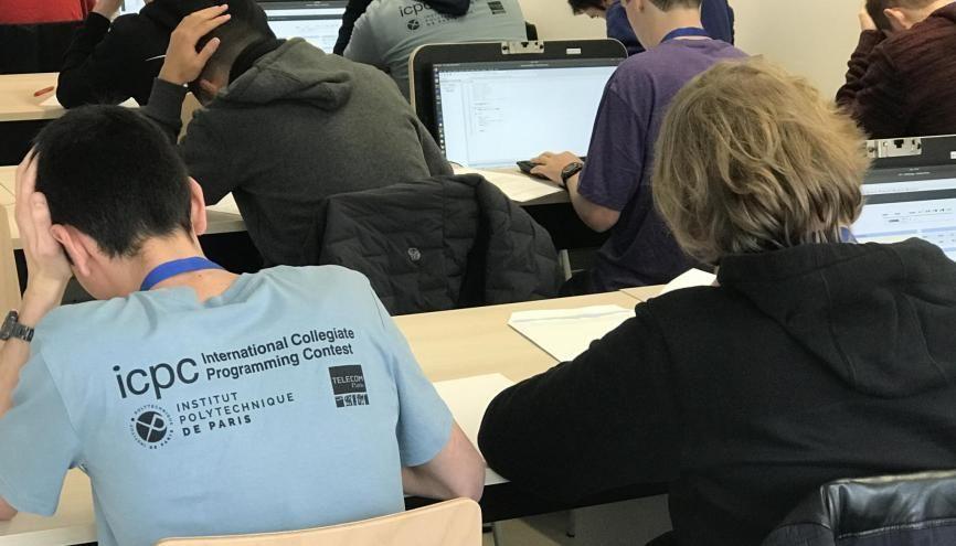 Cette année, 300 participants ont participé au concours international de programmation informatique. //©Clément Rocher