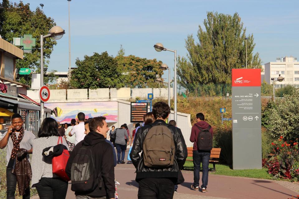 Université Paris-Est–Créteil–Val-de-Marne- Campus de Créteil //©Marie-Anne Nourry