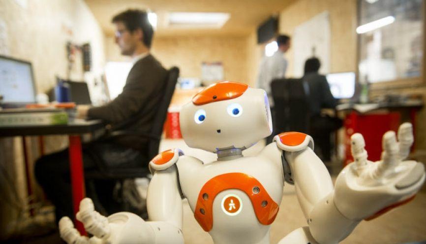 Les robots seront-ils vos nouveaux collègues de travail ? //©Jean Claude MOSCHETTI/REA