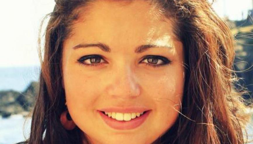 Loréna, 21 ans, a choisi de suivre sa formation en apprentissage à Télécom Saint-Étienne. //©Photo fournie par le témoin