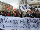 Les étudiants à la manif du 9 mars 2016 contre la loi Travail. Seront-ils plus nombreux le 17 ? //©Etienne Gless