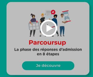 Vidéo Parcoursup : la phase des réponses d'admission en 8 étapes
