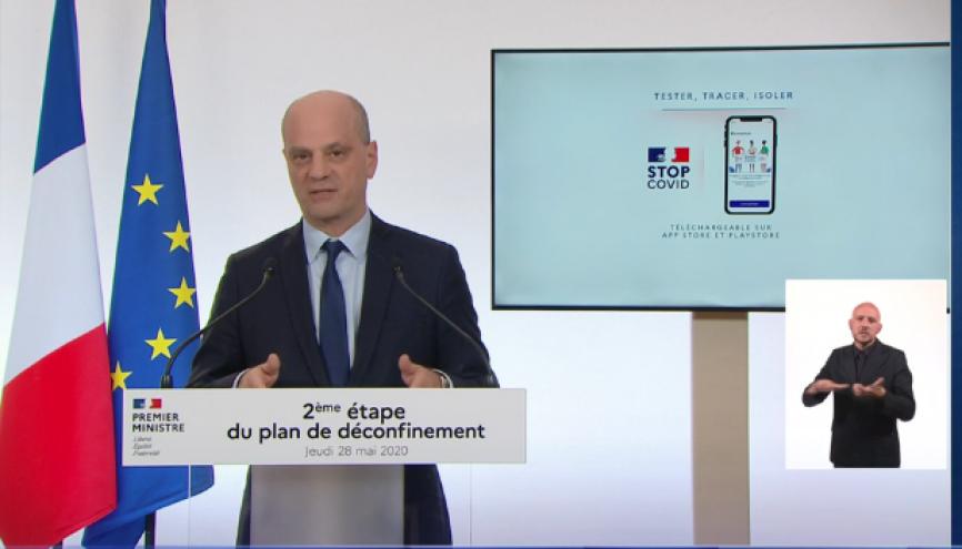 Jean-Michel Blanquer, le ministre de l'Éducation nationale. //©Capture d'écran TF1