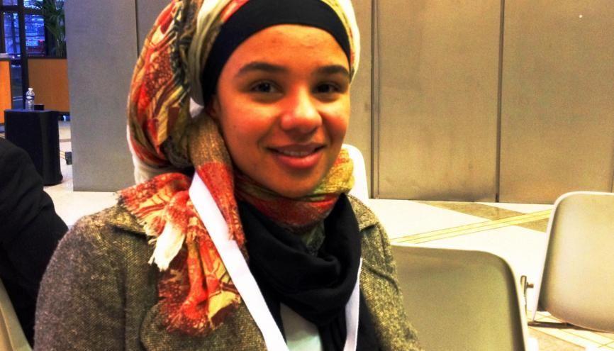 Nubia a bénéficié des conseils du cabinet de recrutement Mozaik RH pour faciliter son insertion professionnelle. //©Etienne Gless