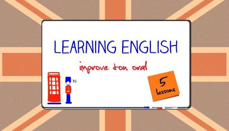 L'anglais facile : 5 cours pour progresser à l'oral