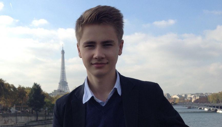 Thomas Ianz a lancé une pétition pour obtenir le droit de vote dès 16 ans. //©Photo fournie par le témoin
