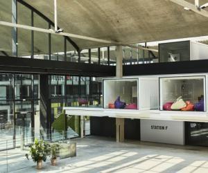 L'incubateur de start-up Station F ouvre ses portes lundi 3 juillet 2017.