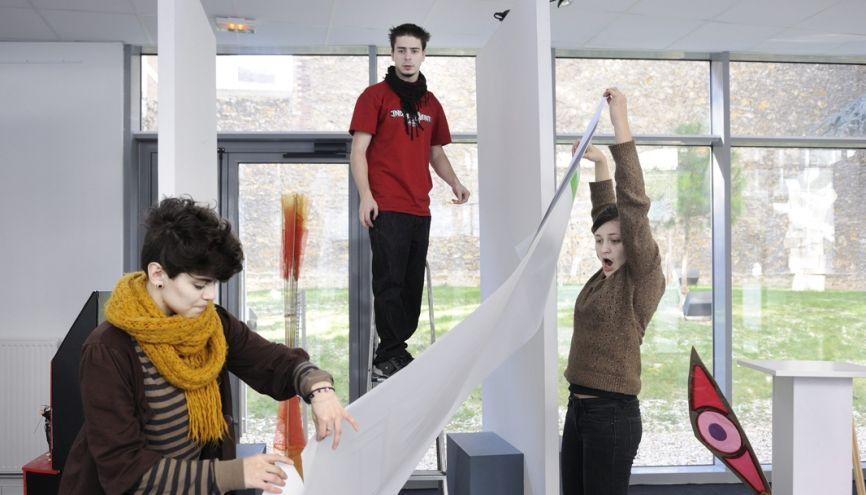 École généraliste, l'ENSAAMA-Olivier-de-Serres propose des formations reconnues par l'État et les professionnels en design, graphisme et architecture intérieure. //©Élisabeth Schneider pour l'Etudiant