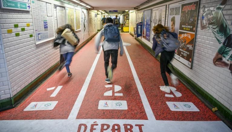 Collégiens, lycéens, étudiants : si vous voulez être prêts pour les JO Paris2024, soyez dans les starting-blocks !