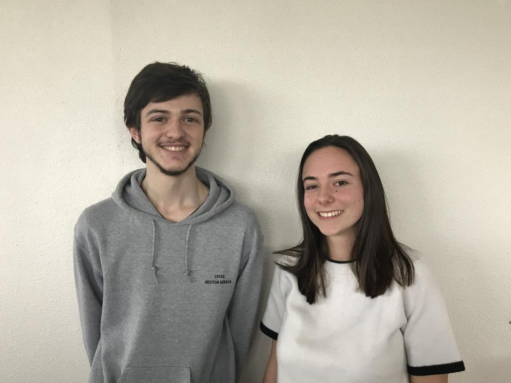 Sylvain et Lili, étudiants en prépa INP. //©Clément Rocher