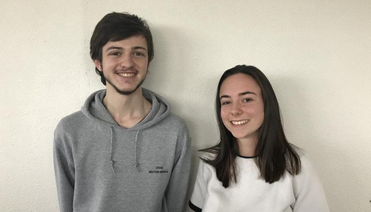 Sylvain et Lili, étudiants en prépa INP.