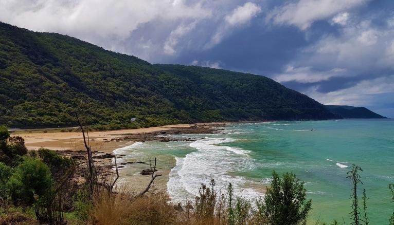 Une partie de la Great Ocean Road dans l'Etat de Victoria, en Australie.