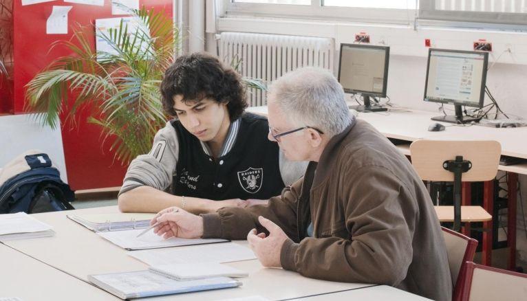 Le microlycée, une des structures permettant aux jeunes décrocheurs de reprendre leurs études.