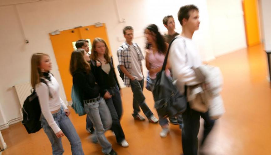 Plus de 5 600 000 de collégiens et lycéens s'apprêtent à faire leur rentrée //©Phovoir