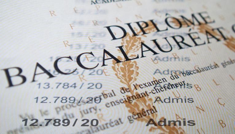 Le diplôme du baccalauréat est un document unique.