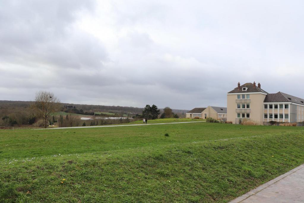 Le lycée agricole de Saint-Germain-en-Laye bénéficie d'un cadre naturel exceptionnel.  //©Marion Floch