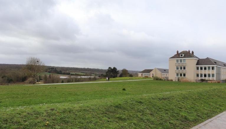 Le lycée agricole de Saint-Germain-en-Laye bénéficie d'un cadre naturel exceptionnel.