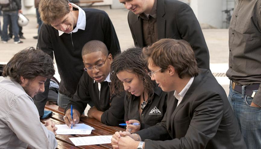 Les élèves de l'EPITA peuvent, durant leur cursus, étudier dans de nombreuses universités partenaires (Allemagne, Pays-Bas, Italie...). //©EPITA